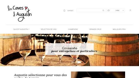 www.lescavesdaugustin.fr