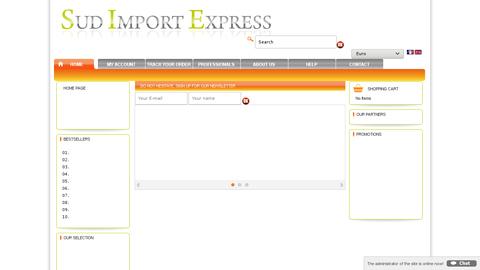 www.sud-import-express.com